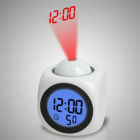 Alarm Clock Projects Time On Ceiling by Multifunctional Projection Alarm Clock Wall Ceiling
