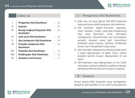 format buku administrasi pelayanan obat buku panduan praktis bpjs kesehatan pelayanan alat kesehatan