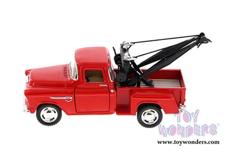 Chevy Stepside 1955 Kinsmart 132 1955 chevy 3100 stepside tow truck 5378d 1 32 scale