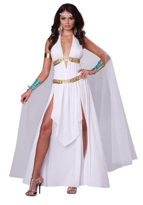 ifavor123.com: Women Glorious Roman Empire Greek Goddess Full Halloween Costume Set Dress Cape