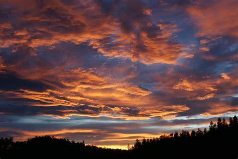 wallpaper awan senja gambar pemandangan horison matahari terbit matahari