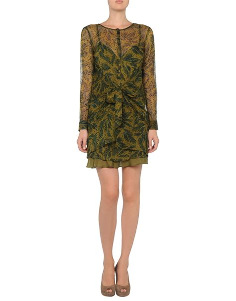 Dress Batik antik batik dress in green lyst