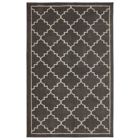 6 ft area rugs home decorators collection winslow walnut 4 ft x 6 ft area rug 516048 the home depot