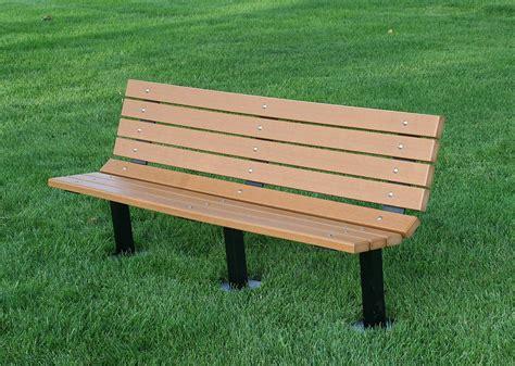 dog park benches hdpe elite bench