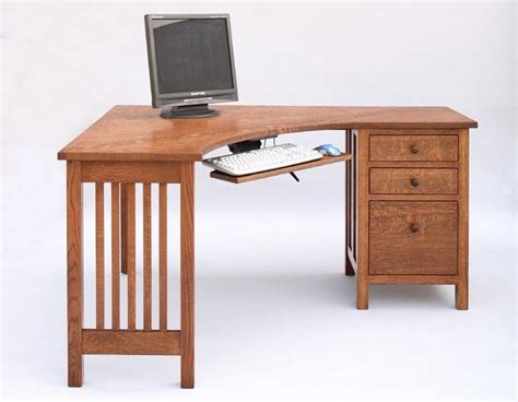 make your own corner desk our craftsman corner desk will make you the