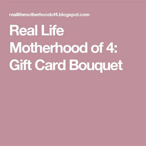 Motherhood Gift Card - 25 best ideas about gift card basket on pinterest raffle prizes silent auction