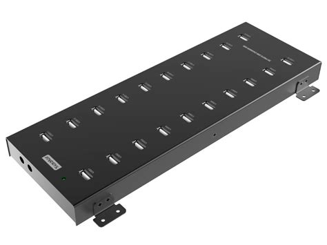 Usb Hub 20 Port 20 Port Usb Hub Charging Station 2 1 Per Port With 5v