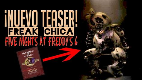 survival logbook five nights at freddy s books nuevo teaser de chica five nights at freddy s 6