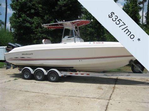 scarab boats cc 2002 used wellcraft scarab 29 center console fishing boat