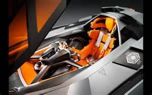 Lamborghini Egoista Interior 2013 Lamborghini Egoista Concept Interior 1
