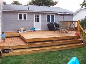 backyard deck st s renovations general