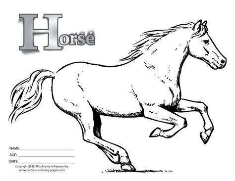 big coloring pages of horses horse coloring pages free horse colouring pages black