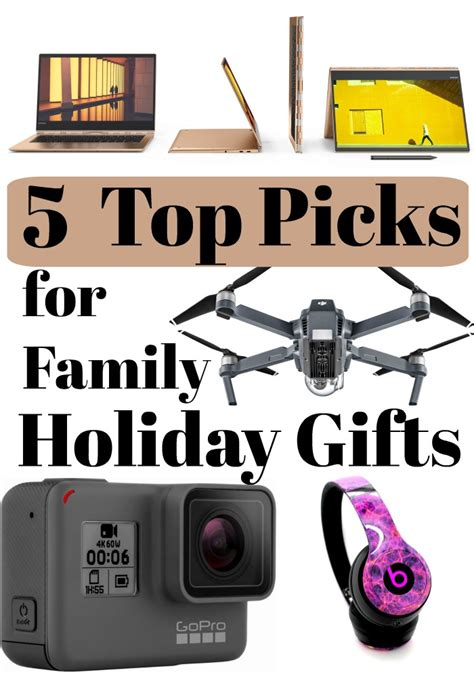 5 top picks for family holiday gifts christmas presents