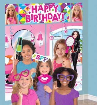 barbie photo booth layout barbie photo booth kit with props party city canada
