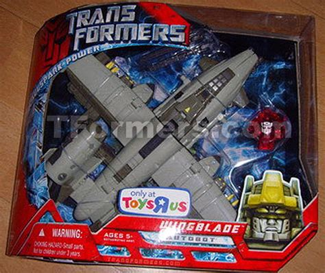 Transformers 2007 Allspark Power Voyager Autobots Evac toys r us jetstorm and wingblade transformers news reviews comics and toys