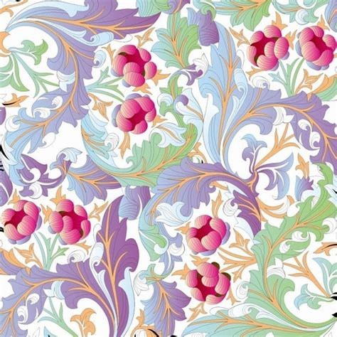 floral pattern background free download flower pattern background vector graphic free vector in