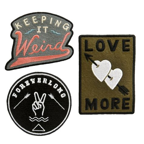 Embroidered Patch custom embroidered patches