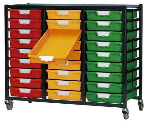 Plastic Storage Rack metal racks with plastic storage trays ese direct