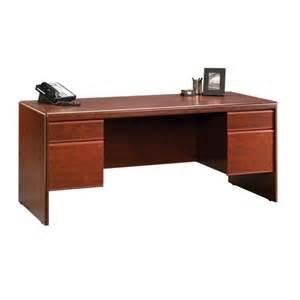 sauder cornerstone executive desk 404972