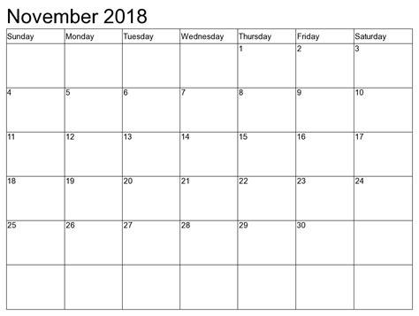 printable calendar booklet 2018 november 2018 2018 calendar printable