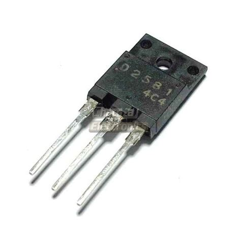 npn transistor output d2581 2sd2581 transistor hor output