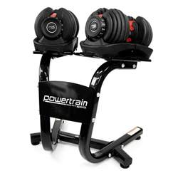 48kg adjustable dumbbell weight set w stand buy sale
