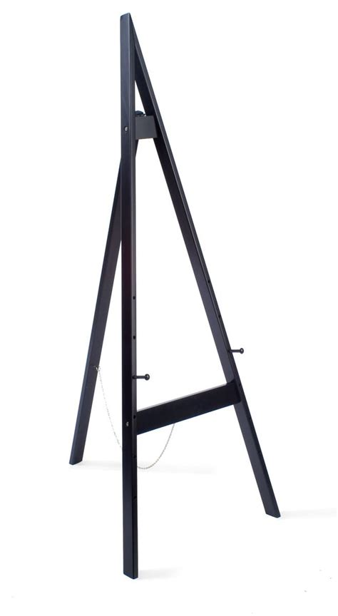 easel stand easel stand 60 quot h in a black finish to easily match any environment