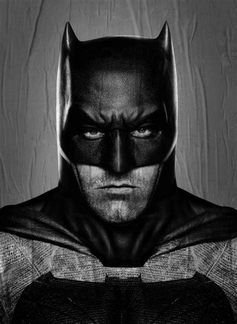 New Poster Reveals Ben Affleck's Batman in All His Neck