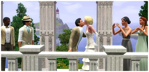 how to set up a wedding in sims 3 new store set live laugh wedding content