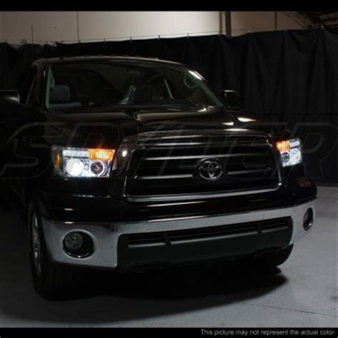 Toyota Tundra Lights Toyota Tundra 2007 2012 Chrome Grille And Projector