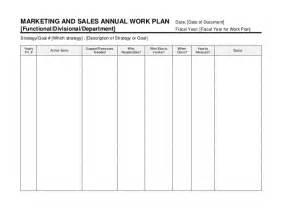 strategic marketing amp sales plan template