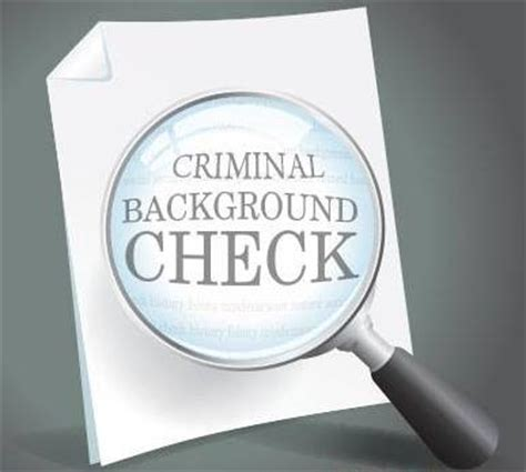 Employment Application Criminal Record Arrest Record Check Usa Criminal History Information Background Check Renter Gun