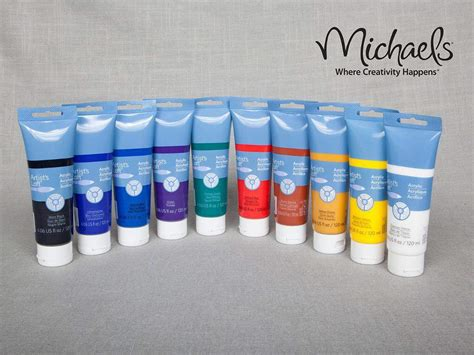 acrylic paint set artist loft craft store amino