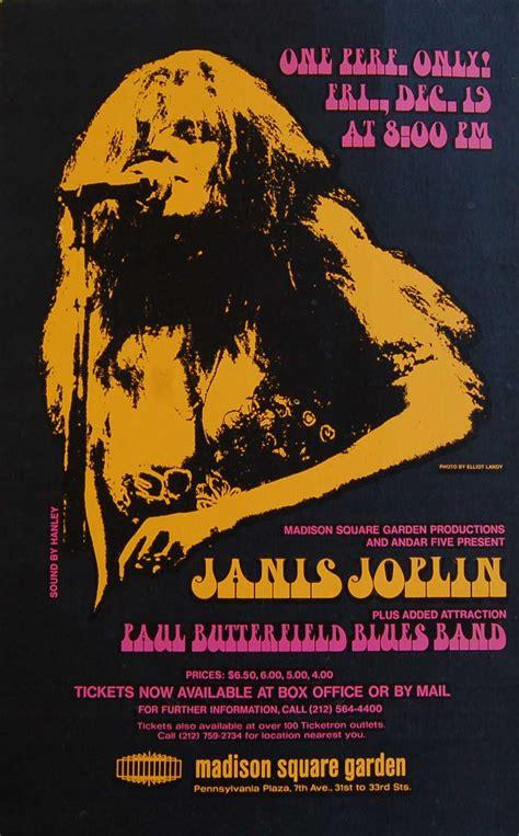 buyer andrew hawley  vintage rock posters announces  search  janis joplin