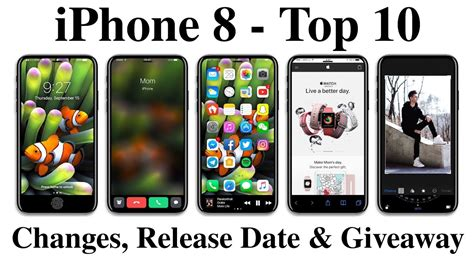 iphone 2 release date iphone 8 top 10 changes bad news release date giveaway look