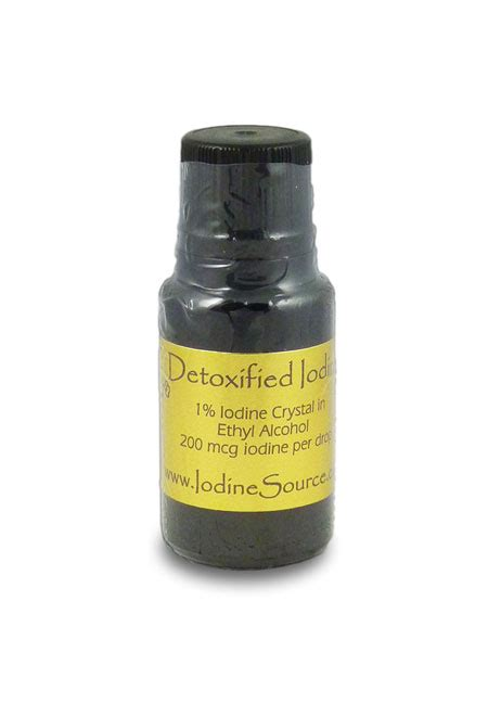 Iodine Lead Detox by Detoxified Iodine Thyroid Support