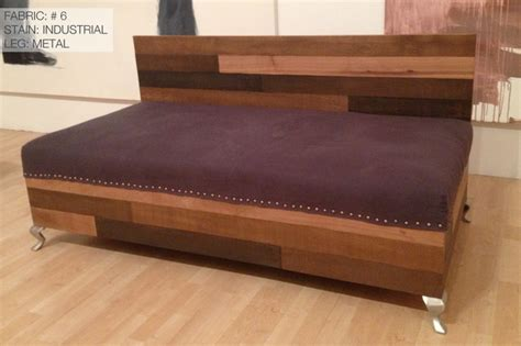 reclaimed wood sofa custom reclaimed wood modern industrial sofa