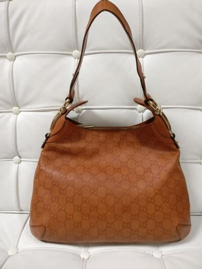 gucci gg monogram leather hobo bag  sale