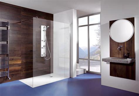 bodengleiche dusche mit wegklappbaren glastüren bodengleiche dusche glaswand gispatcher