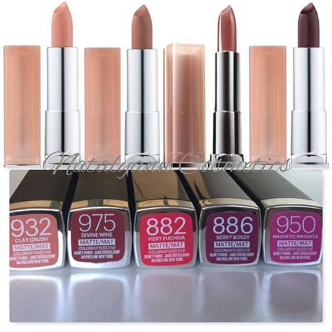 maybelline color sensational maybelline color sensational matte colorsensationa