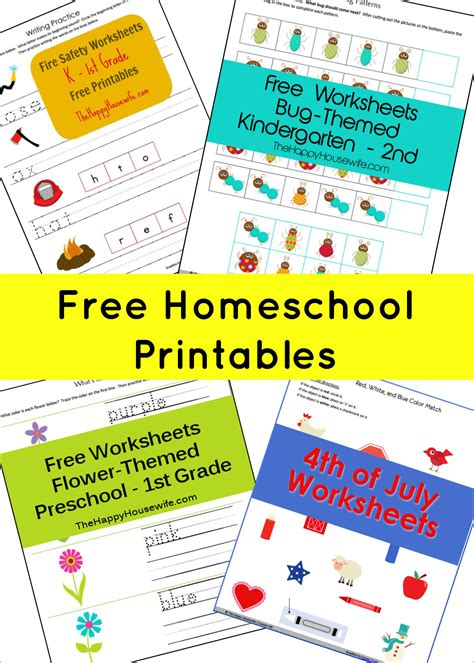 for free homeschool free printables the happy home
