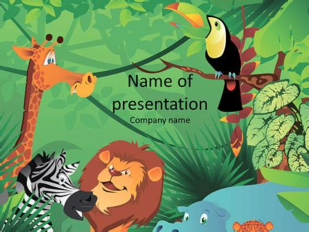 powerpoint templates jungle free jungle template powerpoint gavea info