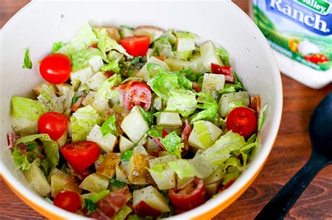potluck salad ranch blt potato salad recipe