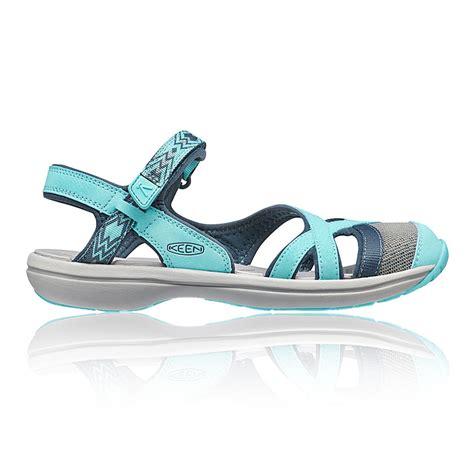 water hiking sandals keen ankle womens blue water resistant walking hiking