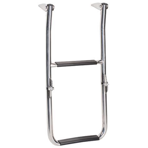 boat ladder west marine west marine 2 step folding dock swim ladder west marine