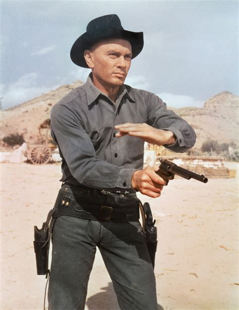 film western yul brynner yul brynner actor director photographer tv guide