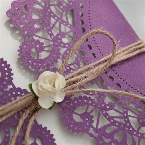 Purple Wedding Invitations by Purple Wedding Invitations By Wedding Invites