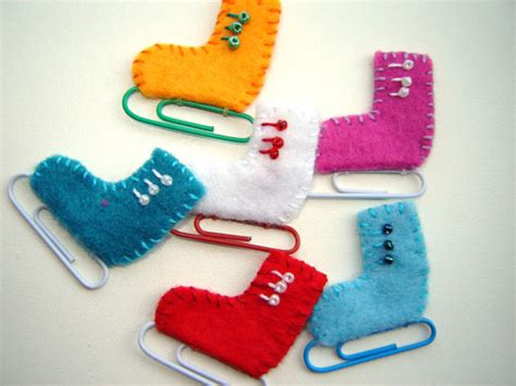 items similar to handmade felt ice skates appliques