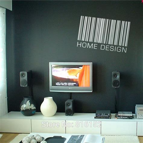 home design and decor shopping promo code dreamfly removable wall decor barcode pattern and english