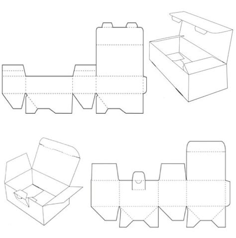 2012 corrugated and folding carton box templates page 2